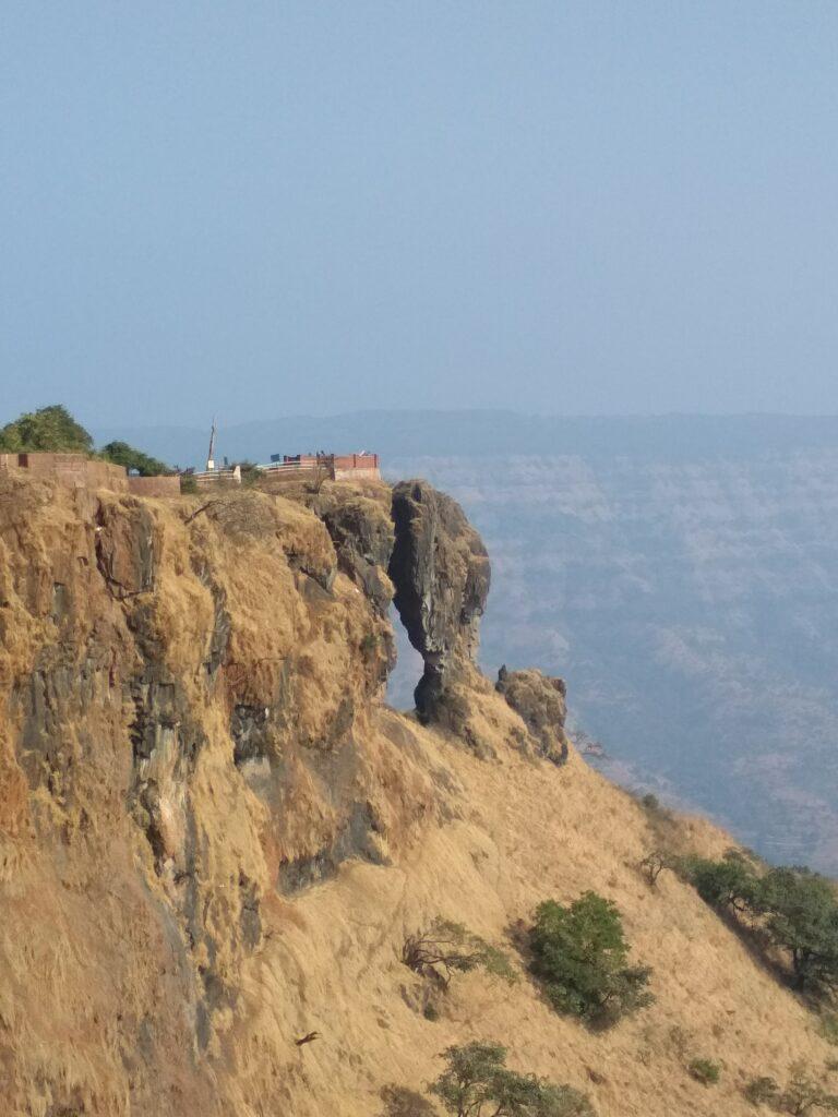 Махабалешвар. Обзорная площадка Игольное ушко